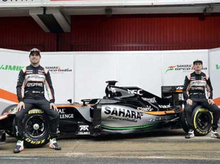 印度力量车队发布新车VJM09 新赛季目标保住第5名