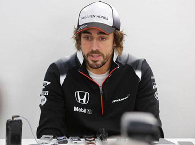 阿隆索表示迈凯伦本田引擎动力提升感觉明显