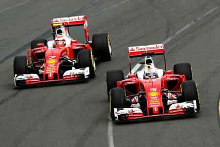 2016赛季F1澳大利亚站排位赛影