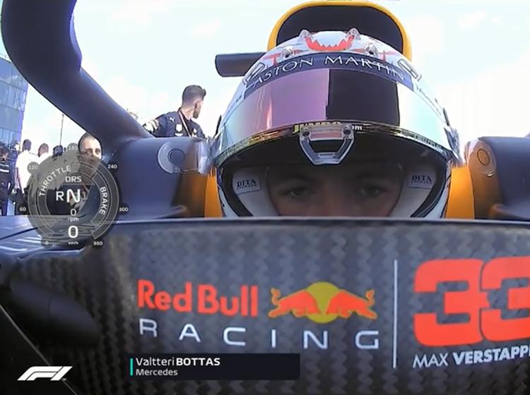 F1匈牙利大奖赛正赛 车载镜头