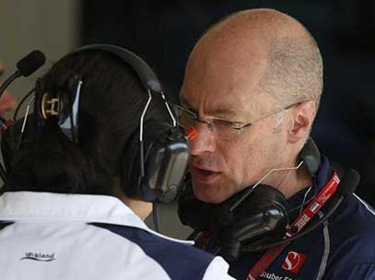 索伯车队确认技术总监马克-史密斯离队