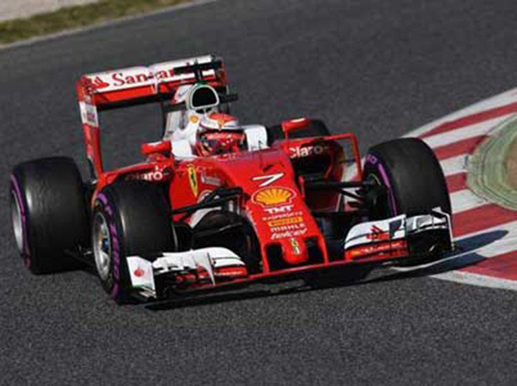 F1季前试车第四日:法拉利名列榜首 梅赛德斯双雄共计185圈
