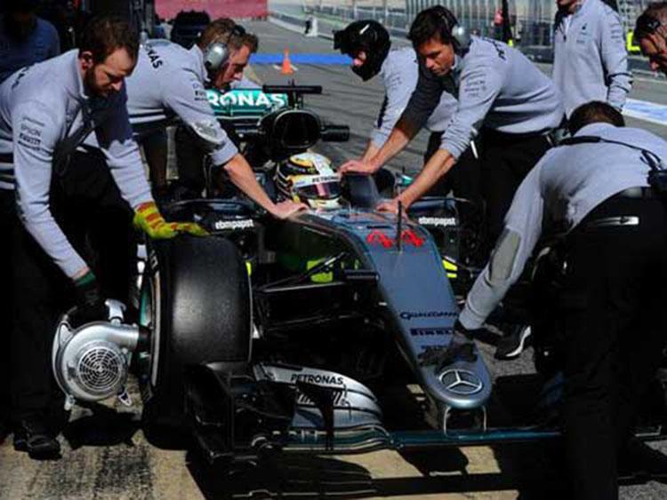 梅赛德斯强势已让对手服软 新引擎可能达千匹马力