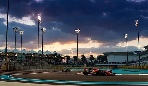 F1阿布扎比站博塔斯获胜 2017赛季大幕落下