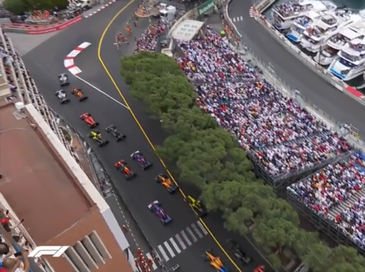 Playback of Formula 1 Monaco Grand Prix