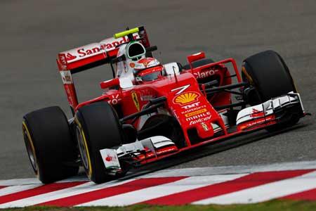 F1中国大奖赛第二次练习赛