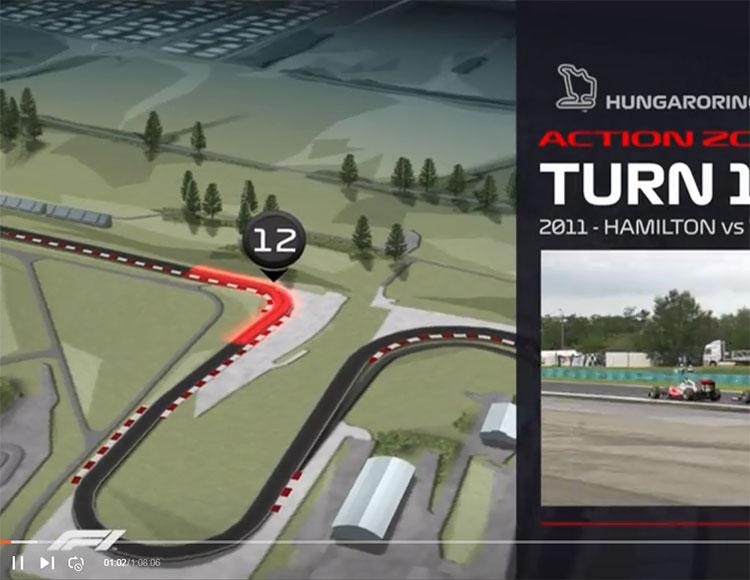F1匈牙利大奖赛第三次练习赛 全场回放
