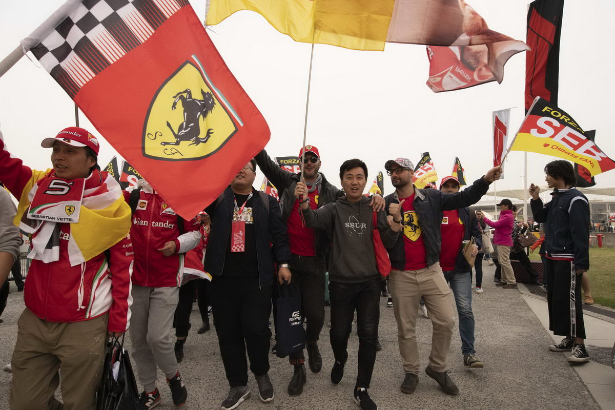 F1 audiences are enthusiastic