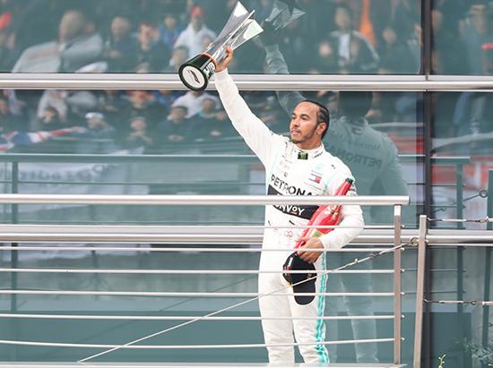 F1墨西哥站:汉密尔顿获冠军 维特尔第二